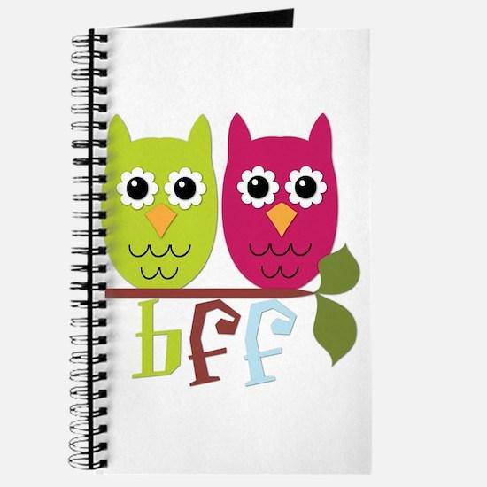 BFF Best Friends Forever Owls Journal