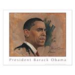 President Barack Obama Small Poster