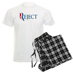 Anti-Romney Reject Men's Light Pajamas