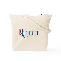 Anti-Romney Reject Tote Bag