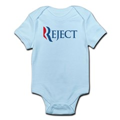Anti-Romney Reject Infant Bodysuit