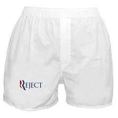 Anti-Romney Reject Boxer Shorts