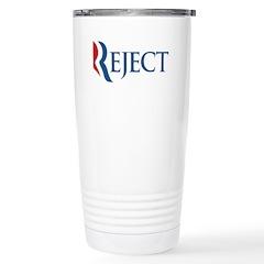 Anti-Romney Reject Stainless Steel Travel Mug