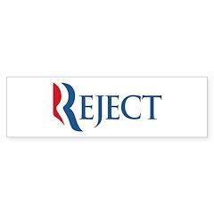 Anti-Romney Reject Sticker (Bumper)
