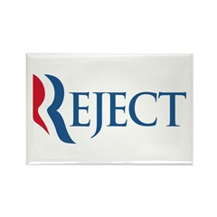 Anti-Romney Reject Rectangle Magnet
