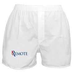 Anti-Romney Remote Boxer Shorts