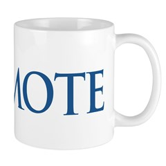 Anti-Romney Remote Mug