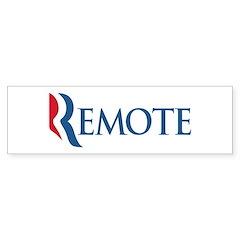 Anti-Romney Remote Sticker (Bumper)
