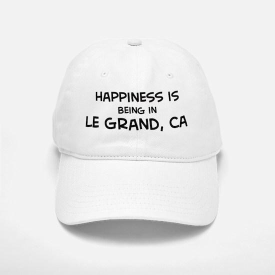 Le Grand - Happiness Baseball Baseball Cap