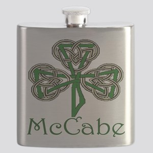 McCabe Shamrock Flask