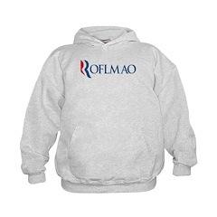 Anti-Romney ROFLMAO Kids Hoodie