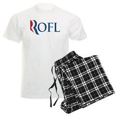 Anti-Romney ROFL Men's Light Pajamas