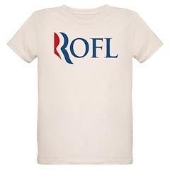 Anti-Romney ROFL Organic Kids T-Shirt