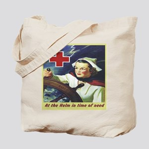 Nurse at the Helm Tote Bag