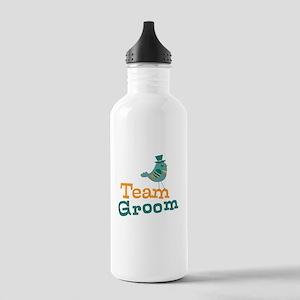 Team Groom Stainless Water Bottle 1.0L
