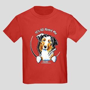 Australian Shepherd IAAM Kids Dark T-Shirt
