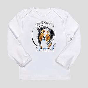 Australian Shepherd IAAM Long Sleeve Infant T-Shir