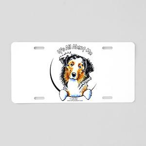 Australian Shepherd IAAM Aluminum License Plate