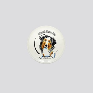 Australian Shepherd IAAM Mini Button