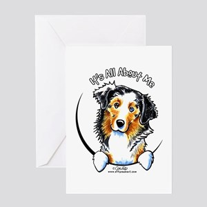 Australian Shepherd IAAM Greeting Card