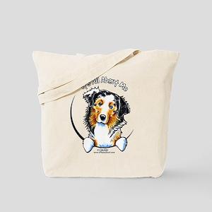 Australian Shepherd IAAM Tote Bag