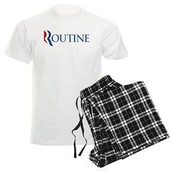 Anti-Romney Routine Men's Light Pajamas