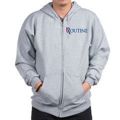 Anti-Romney Routine Zip Hoodie