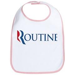 Anti-Romney Routine Bib