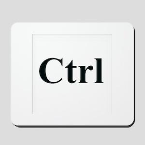 Ctrl Computer Key Mousepad