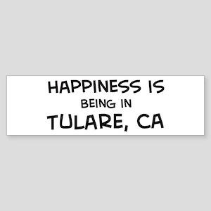 Tulare - Happiness Bumper Sticker