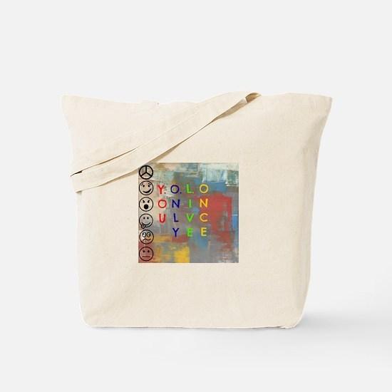 Y.O.L.O Tote Bag