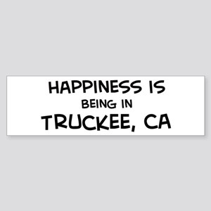 Truckee - Happiness Bumper Sticker