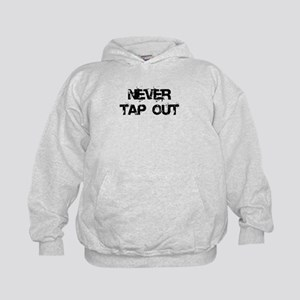 Never Tap out Kids Hoodie