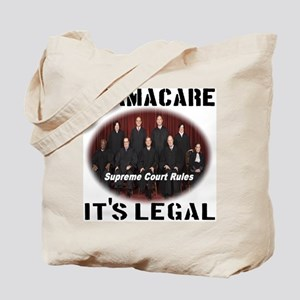 Obamacare It's Legal Tote Bag