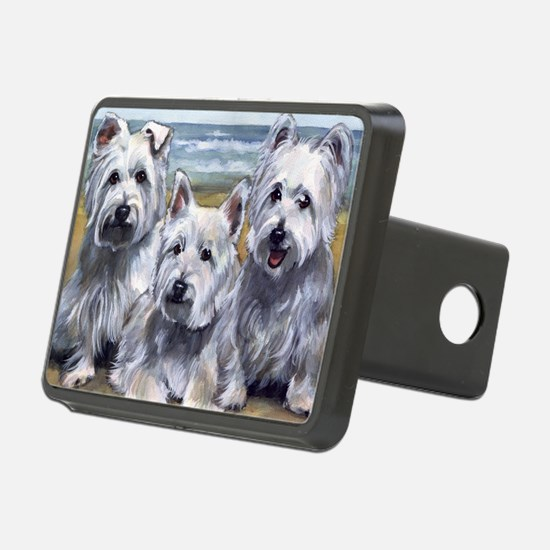 Three Westies Hitch Cover