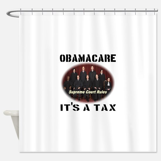 Obamacare It's A Tax Shower Curtain