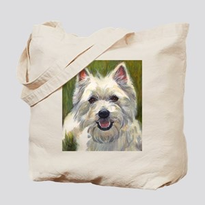 Happy Westie Tote Bag
