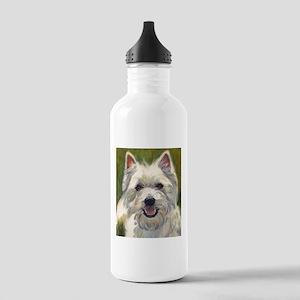 Happy Westie Stainless Water Bottle 1.0L