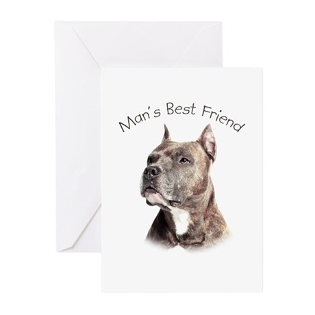 Man's Best Friend Greeting Cards (Pk of 10)