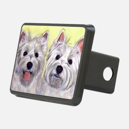 Two Westies Hitch Cover