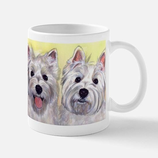 Two Westies Mug