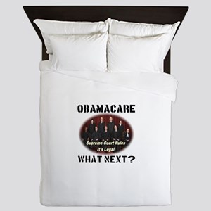 Obamacare What Next? Queen Duvet
