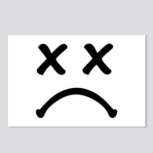 Smiley sad Postcards (Package of 8)