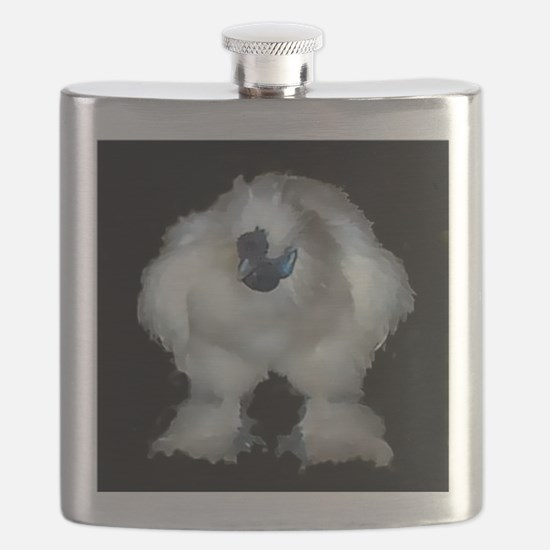 Silkie Rooster Chicken Flask