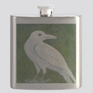 White Crow Flask