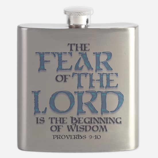 Fear of the Lord Flask