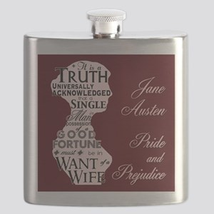 """Truth Universal"" Quote Flask"