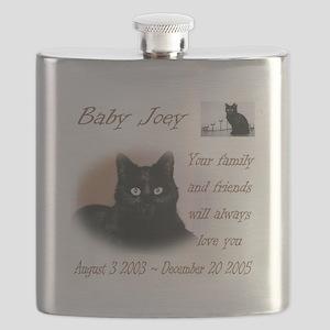 Custom personalized Pet Memorial Flask