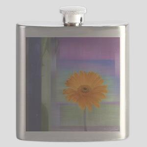 Gerber Daisy in Lavendar Flask