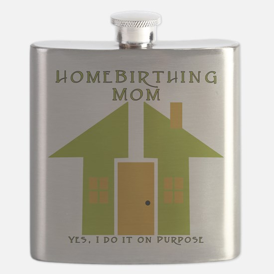 Homebirthing Mom Flask
